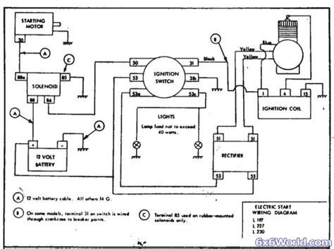 kohler k321s ignition switch wiring diagram kohler engines