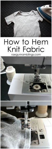how to sew knit fabric without a serger diy alteration of kid s with a non adjustable