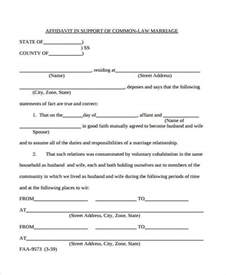 common marriage in california affidavit of marriage marriage moment