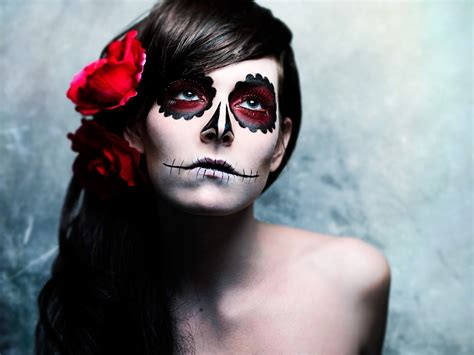 Makeup Sk Ll sugar skull paint this is my