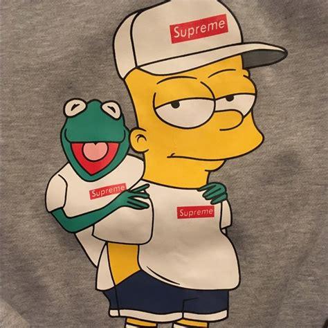 Bart Simpsons X Supreme 42 supreme other supreme bart kermit