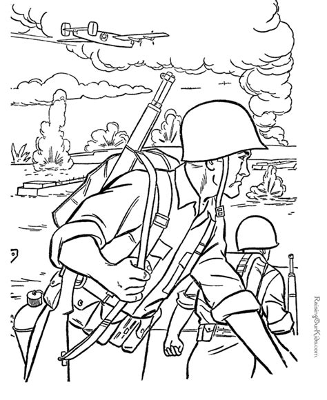 Printable Soldier Coloring Pages 022 Coloring Pages For Soldiers