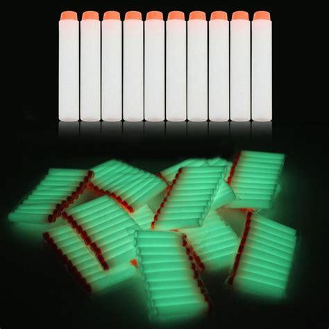 Murah Peluru Nerf Glow In The 10 Pcs Bungkus 10pcs refill darts for nerf gun glow in the