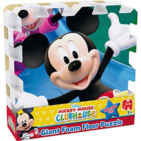 buy mickey mouse clubhouse giant foam floor puzzle