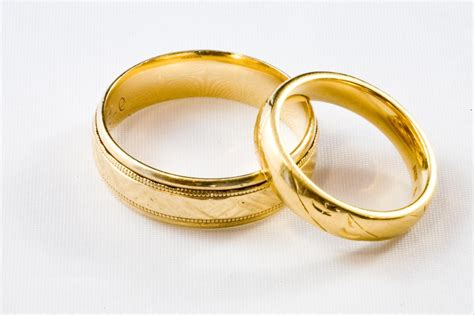 Wedding Rings With Gold by The Gallery For Gt Simple Silver Wedding Rings For