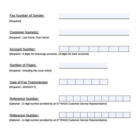 28 Fax Cover Sheet Templates Sle Templates Generic Fax Template