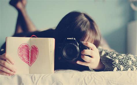 girl with camera wallpaper hd 意境美女壁纸高清唯美图片 唯一图库