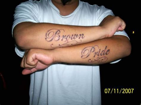 brown pride tattoos 25 artistic brown pride tattoos allnewhairstyles