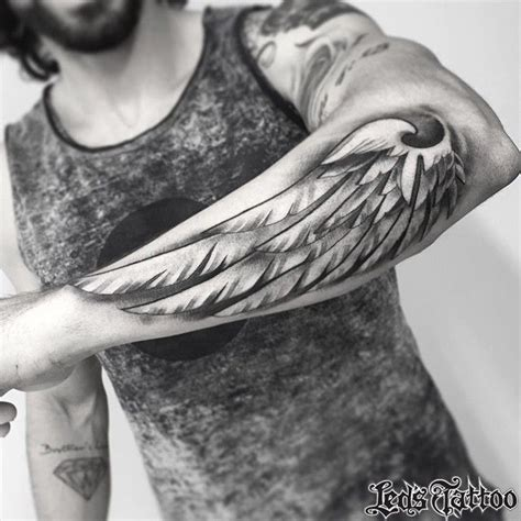 angel wing tattoo on forearm 25 best tattoos ideas on inspiring