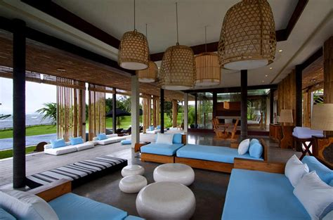 living room bali living space tantangan villa in bali by word of architecture