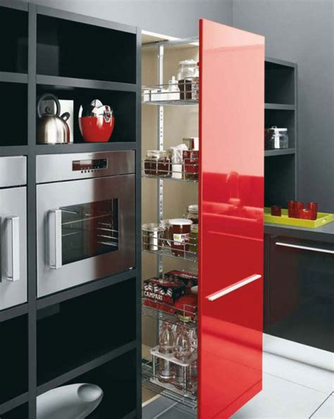 Red White Kitchen Ideas Interior Extraordinary Red Black And White Kitchen