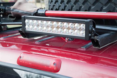 Jeep Roof Rack With Lights by Running Wires For Roof Rack Lights Jeep Forum