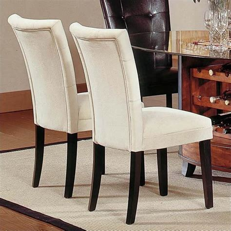 steve silver company matinee fabric parson dining chair