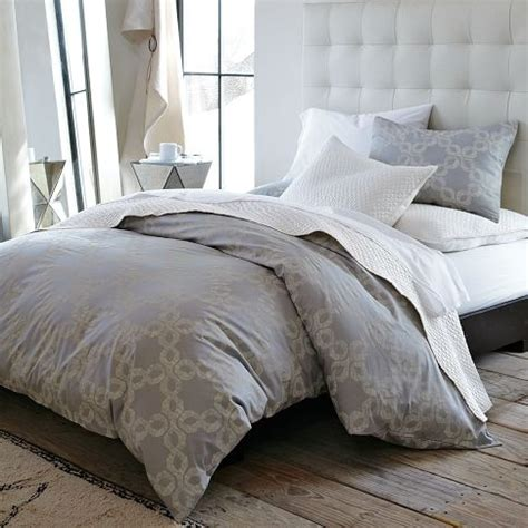West Elm Chunky Wood Bed Frame Our Decision Maybe Buying Bedding In The Color Scheme I Want In The Room One Day Will
