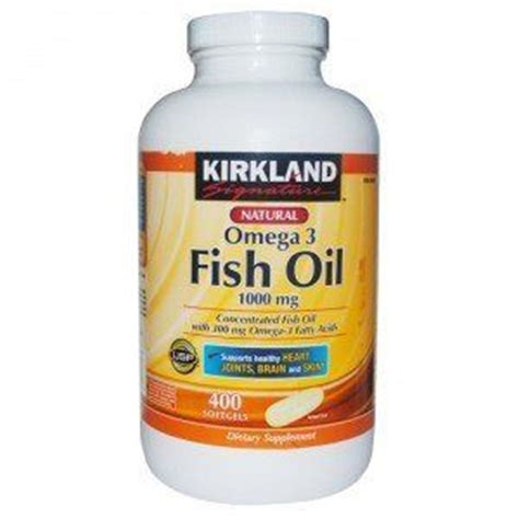 Kirkland Signature Omega 3 Fish 1000 Mg kirkland signature omega 3 fish concentrate 1000 mg