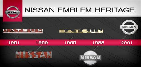 vintage datsun logo nissan logo archives bates nissan blog