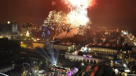 edinburgh tattoo new years eve bbc news in pictures 20 years of hogmanay