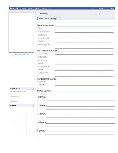 character analysis template page template character analysis by missrathor