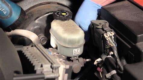 trailblazer brake master cylinder fluid level sensor