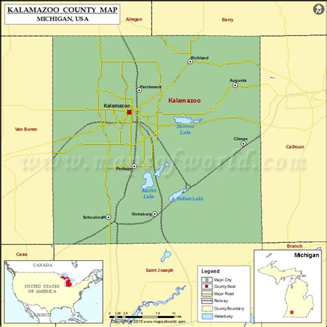 zip code map kalamazoo county kalamazoo county map michigan