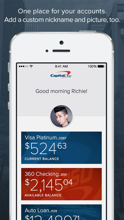 one mobile one capital one mobile 5 best apps and