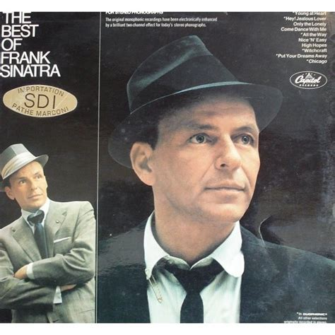 frank sinatra the best the best of frank sinatra by frank sinatra lp with