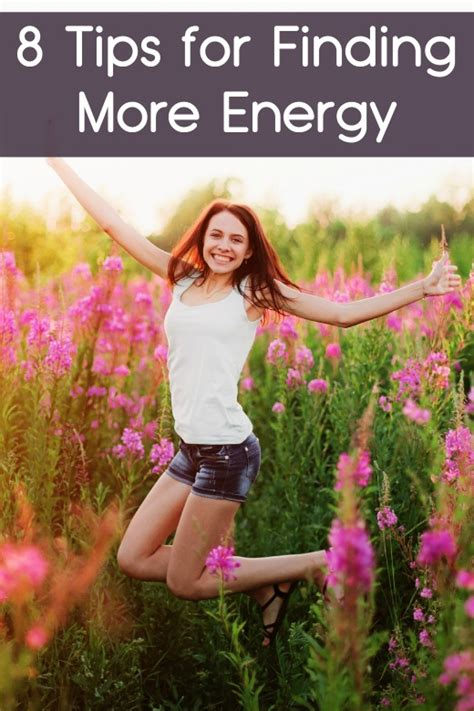 8 Tips On Finding The Gift by 8 Tips For Finding More Energy