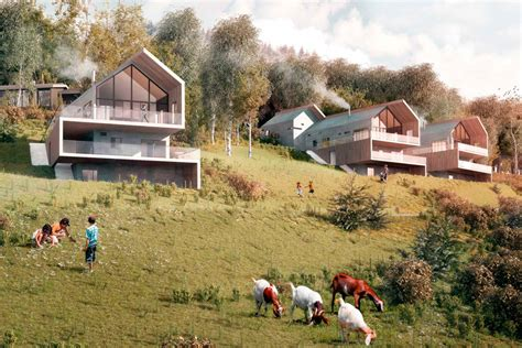 concept design norge wrap house concept by ctrl n maximizes natural light and