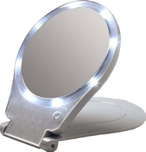 travel lighted makeup mirror best lighted travel makeup mirrors