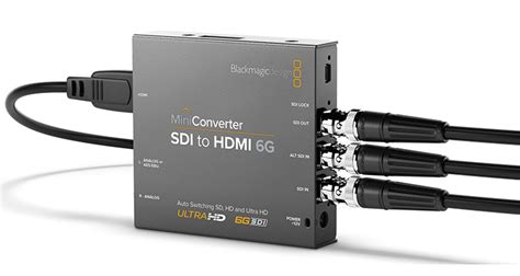 blackmagic format converter blackmagic design announces new 6g sdi mini converters