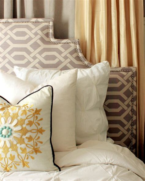 diy fabric headboard ideas diy upholstered headboard contemporary bedroom