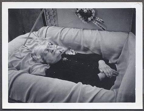 funerals open casket extreme parenting 9 outrageous 1950s oddity vintage strange weird photo old woman in