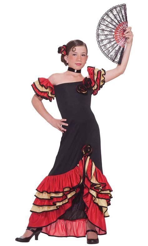 Robe Espagnole Flamenco Fille - robe espagnole pour fille v59270