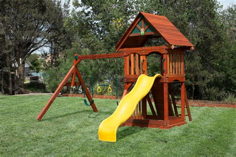 cheap backyard playsets wooden playsets at discount prices houston swing