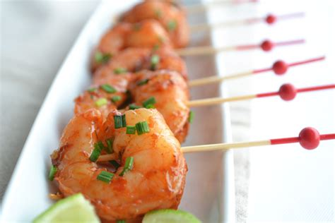 Party Cocktail - thai chilli king prawn canape truffles caterers