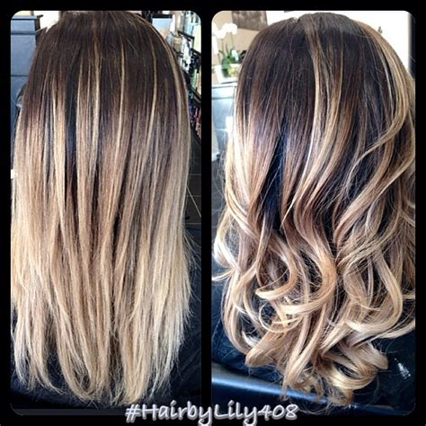 balayage dark brown hair with blonde highlights balayage hair color ash blonde newhairstylesformen2014 com