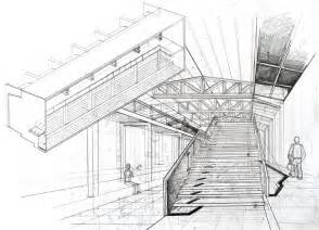 Interior Drawing interior perspective arch student com