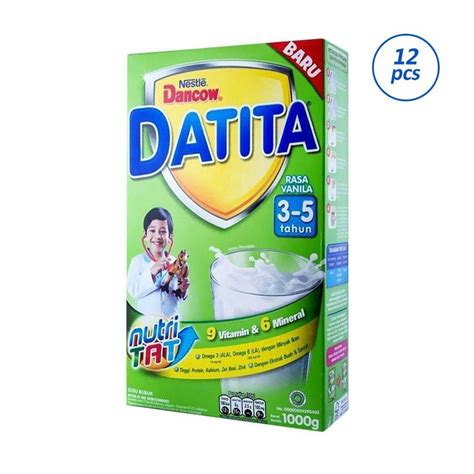 Nestle Dancow 3 jual nestle dancow datita 3 formula vanila 1000 g