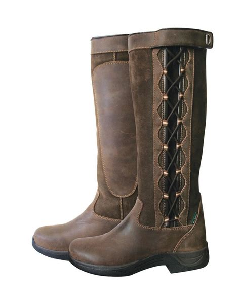 Country Boots 30 dublin waterproof walking leather country boots ebay