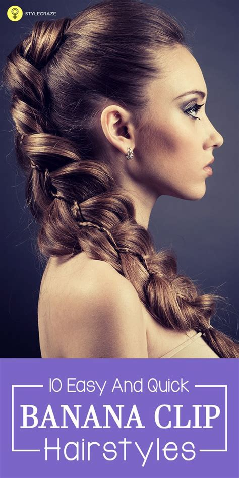 best 25 banana clip hairstyles ideas on faux
