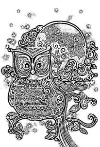 owl coloring pages for adults owl coloring pages owl coloring pages for adults