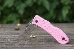 kabar mini dozier pink pocket knife knifeup