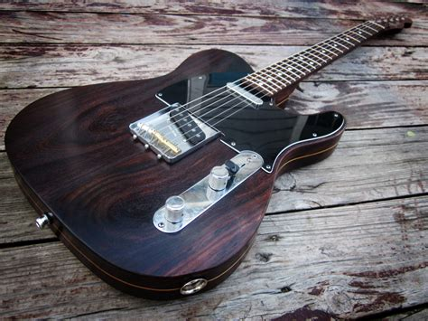 Ngd Rosewood Telecaster Pic Heavy The Gear Page