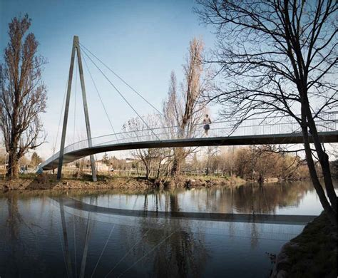 Home Design Architects footbridge in pamplona navarre spain e architect