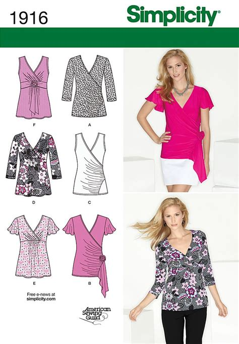 Blouse Knit 688 42 best simplicity patterns i need images on