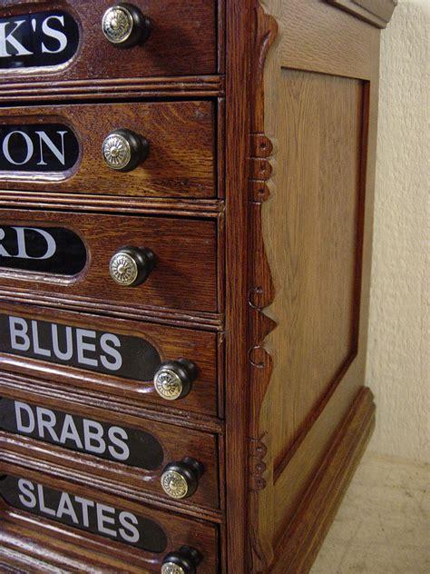 Chadwick's Oak Spool Cabinet X 23