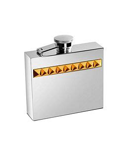 aspinal  london double hip flask house  fraser