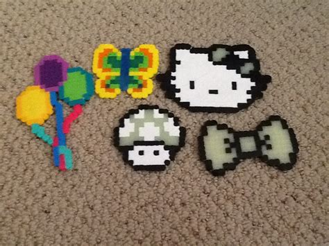 fuse bead creations perler bead creations www totallycraft weebly