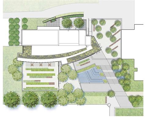 sle site plan suny simons center 171 landezine international landscape