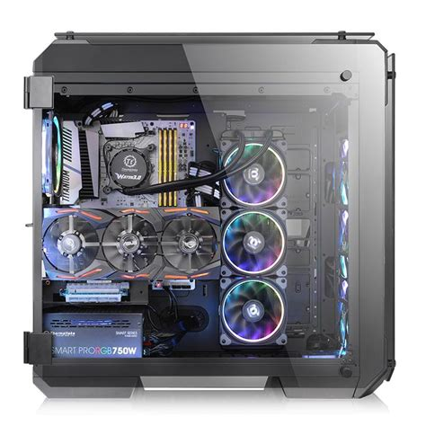 Tempered Glass Tewe Premium Samsung J210 thermaltake view 71 tempered glass rgb edition tower